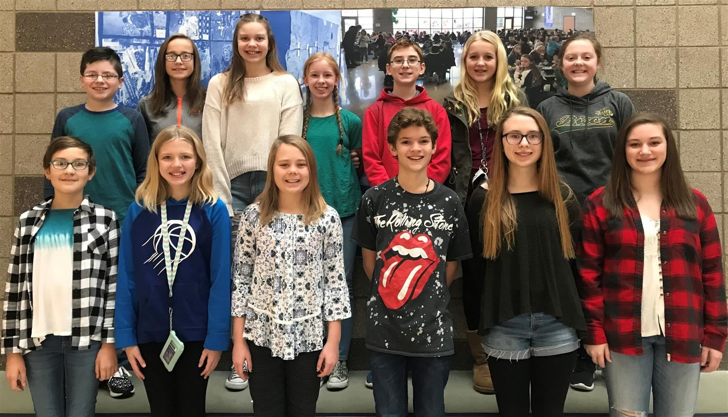 Image of December 2018 Students of the Month