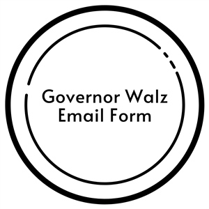 governor walz email form