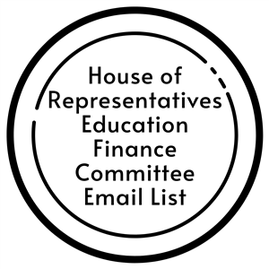 house of representatives education finance committee email list