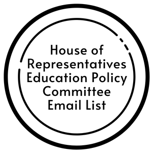 house of representatives education policy committee email list