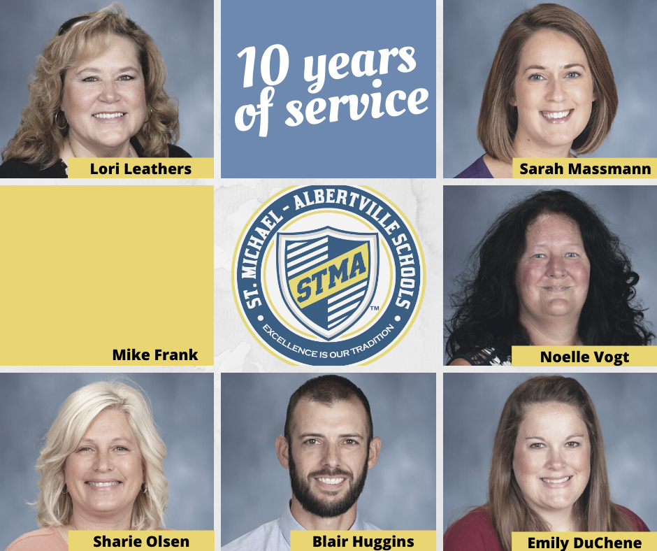 STMA Staff Years of Service