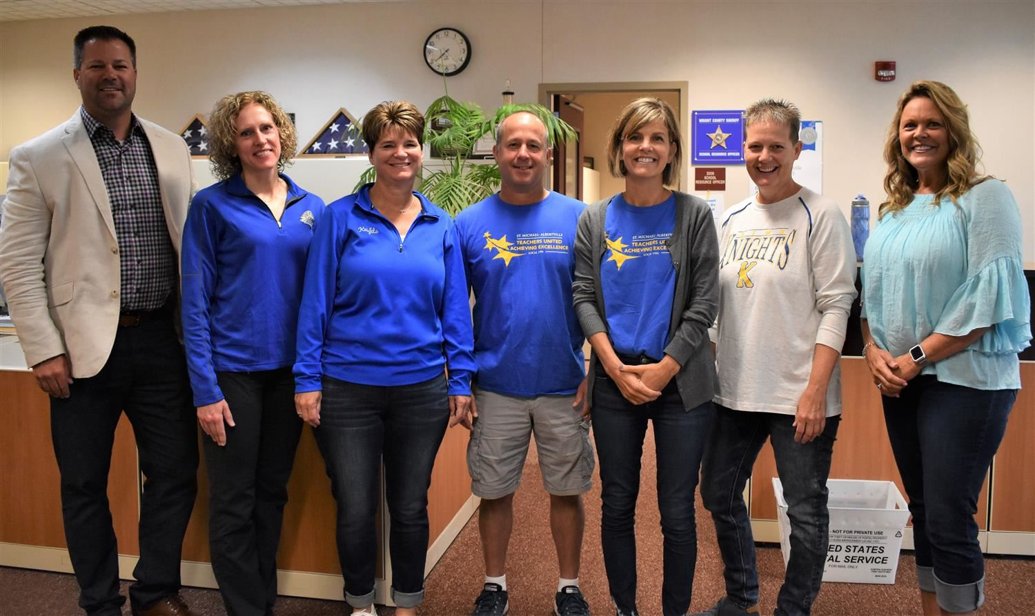 STMA Honors Staff with 30 Years of Service