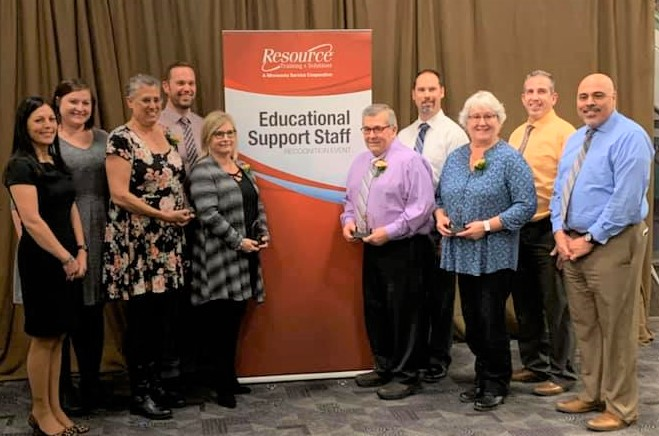 Four STMA Staff Members Honored with Resource Training & Solutions Educational Support Staff Recognition Awards