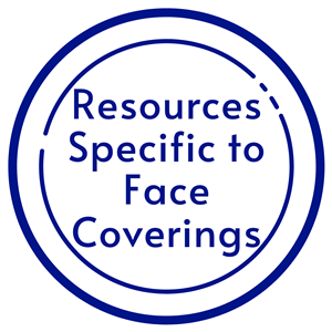 click icon for face covering resources